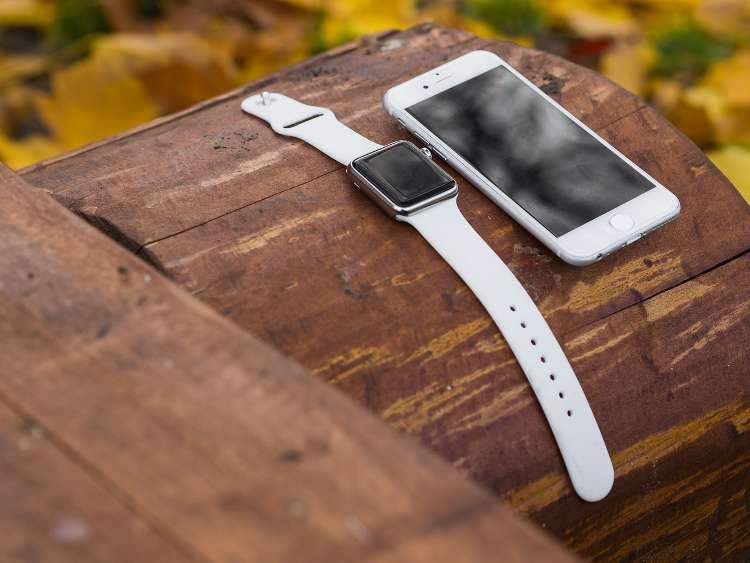 El smartwatch y el smartphone