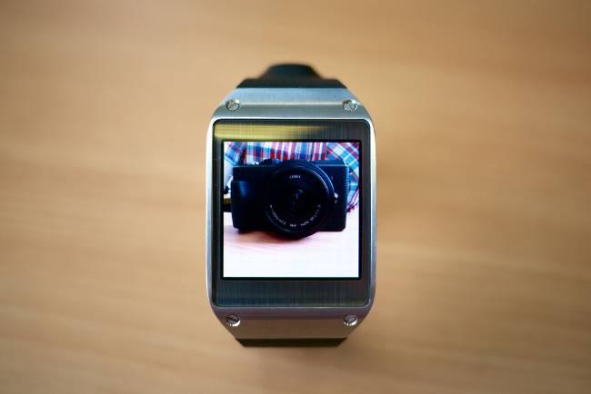 Samsung Gear con cámara