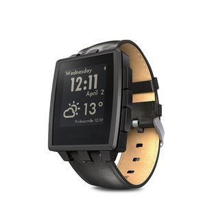 Pebble Steel Negro