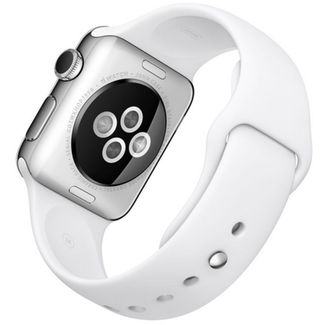 primera generación del apple watch blanco deportivo 38 mm