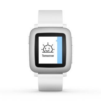 Pebble Time Blanco