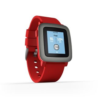 comprar pebble time rojo en amazon