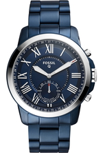 comprar reloj híbrido fossil q azul