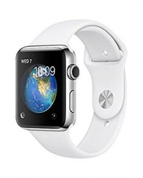 comprar smartwatch apple watch deportivo blanco 38 mm