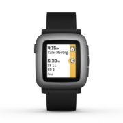 Pebble Time Negro