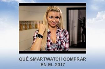 Qué smartwatch comprar en el 2017